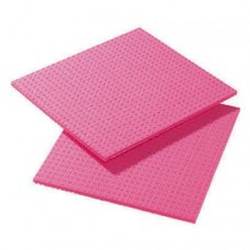 Cellulose Sponge Cloth, Pink Pack 10