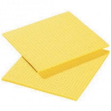 Cellulose Sponge Cloth, Yellow Pack 10