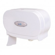 Coreless Plastic Toilet Roll Twin Dispenser