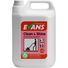 Evans Clean & Shine Floor Maintainer (Floral Perfume) 2x5litre