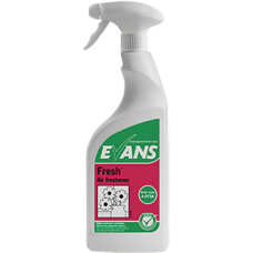 Evans Fresh Liquid Air Freshener Trigger 750ml