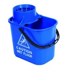 Professional Mop Bucket 15lire Blue
