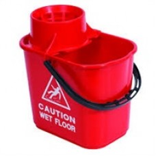 Professional Mop Bucket 15litre Red