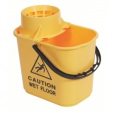 Professional Mop Bucket 15litre Yellow