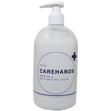 Evans Carehands Barrier Moisturising Cream 500ml