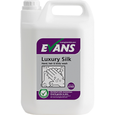 Evans Luxury Silk Hand Wash 5Litre