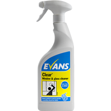 Evans Clear Window & Glass Cleaner 6x750ml