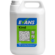 Evans Kind Washing Up Liquid 5Litre
