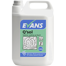 Evans Q'SOL Superior Washing Up Liquid 5litre