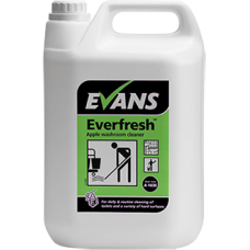 Evans Everfresh Apple Toilet & Washroom Cleaner 5litre