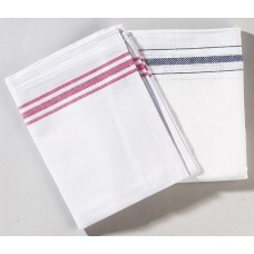Cotton Tea Towels 48 x74cm White Pack 10