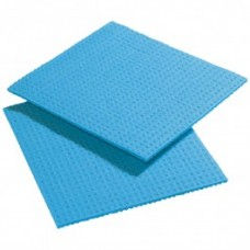 Cellulose Sponge Cloth, Blue Pack 10
