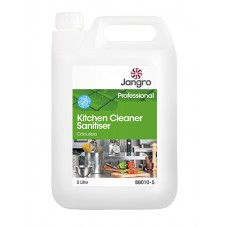 Jangro Kitchen Cleaner Sanitiser Odourless 5litre
