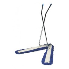 "V - 40"" Sweeper Complete Frame/Handle/Head x 1, Blue"
