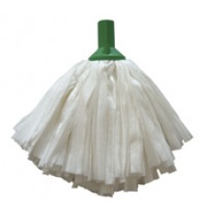 Exel Big White Socket Mop - Green