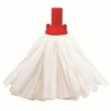 Exel Big White Socket Mop - Red