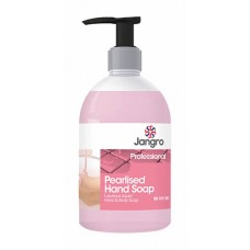 Jangro Pink Pearlised Hand Soap 500ml