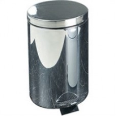 Stainless Steel Pedal Bin 12 Litre Silver