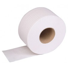 "Mini Jumbo Toilet Roll 200M x 90mm, 2¼"" core, 2 ply x 12 Rolls"