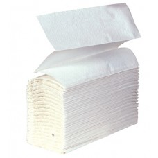 Z-Fold Hand Towel, White 1 ply