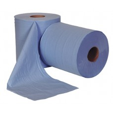 Blue Centrefeed Roll 150M, 2 ply x 6