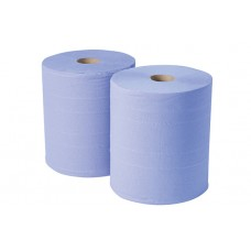 Monster Roll Pale Blue 2ply 20gsm 400m x 2