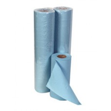 "Couch Roll/Hygiene Roll 10"" Blue 40M 2Ply"