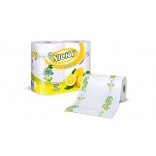 Nicky Lemon Kitchen Towel 2 ply 8 x 2 Rolls