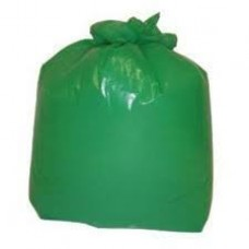"Green Refuse Sack 18""x29x38"" Medium Duty X 200"