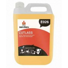Selden Cutlass 3 in 1 Disinfectant 2x5Litre - E026